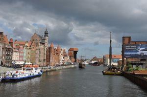 Gdansk, de stad waar de opstand tegen de communisten begon,  is nu een trekpleister voor toeristen
