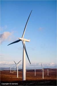 Windmolenpark Siemens in de woestijn, Bron DII