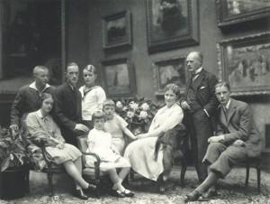 De familie Krupp, foto: Wikipedia