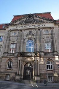 De Europa-universiteit Viadrina, Foto: MK