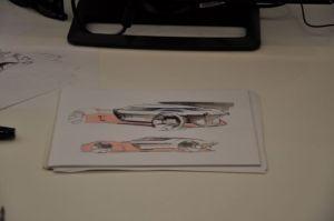 Een vingeroefening van een Dacia-ontwerper