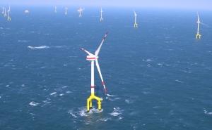 Bard1 vanuit de lucht, Foto Bard Offshore