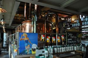 Bierbrouwer in Berlijn Spandau, Foto: Maurits Kuypers