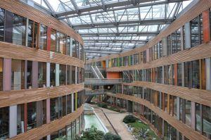 In het futuristische Bundesumweltamt in Dessau werkt Duitsland aan oplossingen voor de Energiewende