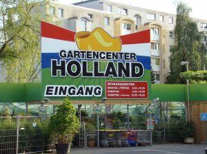 Een van de vele Hollandse tuincentra in Berlijn, deze staat langs de Mauerweg
