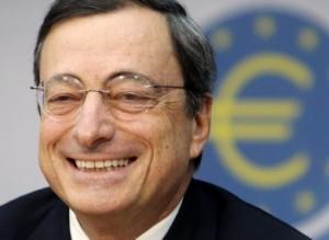Mario Draghi kan nu nog lachen, foto van de blog van Martin Visser