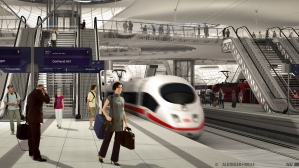 Zo moet het nieuwe ondergrondse station van Stuttgart eruit gaan zien