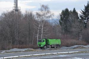 Ritje over het testcircuit met een Tatra Phoenix aangedreven door een DAF-motor