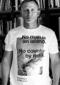 007 is daarentegen voor de EU. Weg gaan slaat nergens op