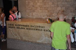 En die van oud-president Lech Kaczynski, Foto MK