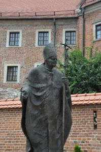 Johannus Paulus II mag natuurlijk ook niet ontbreken, Foto MK