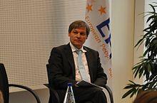 Oud-EU-commissaris voor landbouw en nu regeringsleider Dacian Ciolos
