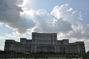 Het centrum van de macht in Roemenië