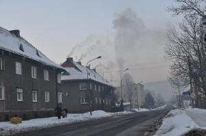 De hoofdweg door Nowa Ruda, Foto MK